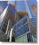 Toronto Financial Core Buildings Metal Print
