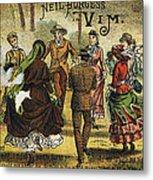 Trade Card, C1880 Metal Print