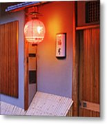 Traditional Japanese House Metal Print by Jeremy Woodhouse