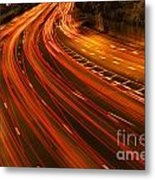 Traffic River Metal Print