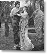Troilus And Cressida Metal Print
