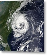 Tropical Storm Gustav Metal Print