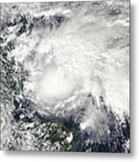 Tropical Storm Ida In The Caribbean Sea Metal Print