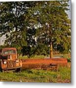 Truck And Tank 8 Metal Print