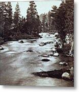 Truckee River - California - C 1865 Metal Print