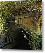 Tunnel At Crystal Cove Metal Print
