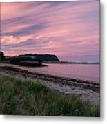 Twilight After A Sunset At A Beach Metal Print