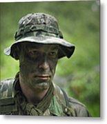 U.s. Special Forces Soldier Metal Print