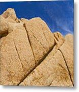Usa, California, Joshua Tree National Park, Rock Formations Metal Print