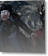 Vampire Cowboy Metal Print
