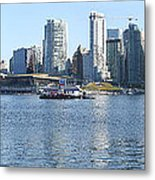 Vancouver Bc Skyline Canada  Place Panorama Canada.  Metal Print by Gino Rigucci