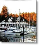 Vancouver Rowing Club Metal Print