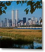 View From Liberty State Park Metal Print