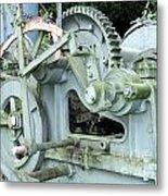 Vintage Steam Powered Lumber Collector Metal Print