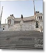 Vittoriano Monument To Victor Emmanuel II. Rome Metal Print by Bernard Jaubert