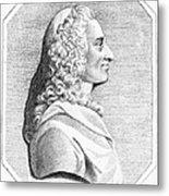 Voltaire (1694-1779) Metal Print