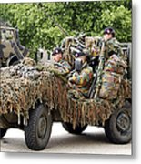 Vw Iltis Jeeps Used By Scout Or Recce Metal Print