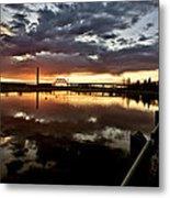 Wakamaw Valley Sunrise Metal Print