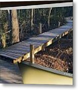Walk Bridge Metal Print