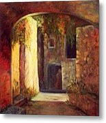 Walled Village Metal Print