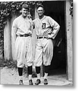 Walter Johnson (1887-1946) Metal Print by Granger