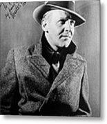 Walter Winchell (1897-1972) Metal Print
