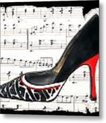 Waltzing Pumps Metal Print