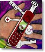 Wap Mobile Telephone Metal Print