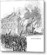 Washington Burning, 1814 Metal Print