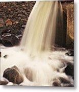 Water Pollution Metal Print