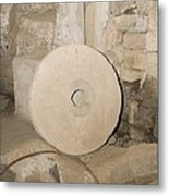 Water-powered Flour Mill Metal Print