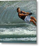 Water Skiing Magic Of Water 28 Metal Print
