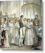 Wedding Of Queen Victoria Metal Print