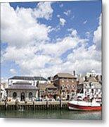 Weymouth Harbour Metal Print