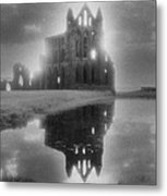 Whitby Abbey Metal Print by Simon Marsden