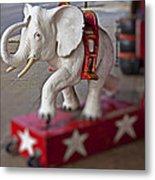 White Elephant Metal Print by Garry Gay