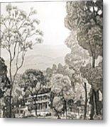 White Sulphur Springs Metal Print