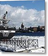 Winter Peterburg1 Metal Print