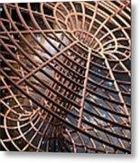 Wormhole, Conceptual Artwork Metal Print