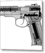 X-ray Of An Air Gun Metal Print