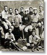Yale Baseball Team, 1901 Metal Print