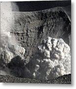 Yasur Eruption, Tanna Island, Vanuatu Metal Print