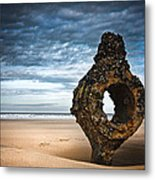 Yorkshire Coast Metal Print