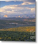 Zion Distant Metal Print