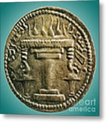 Zoroastrian Fire Altar Metal Print