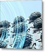 Artificial Intelligence, Artwork Metal Print