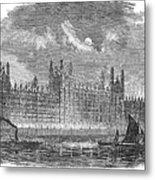 Great Britain: Parliament Metal Print