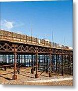 Hastings Pier Metal Print