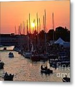 Mackinac Race Metal Print