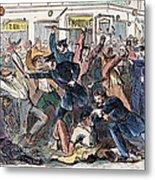 New York: Draft Riots Metal Print